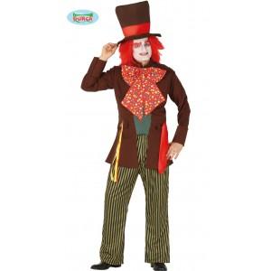 Costume Bambina Hippie Figlio Dei Fiori Freak Anni '70 Travestimento Carnevale