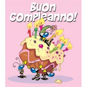 Piatti Con Api Apette Compleanno Feste Bambini Adulti Carta 23 Cm