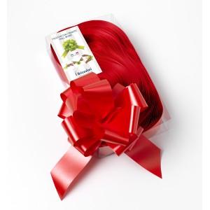 Fiocco Argento Glitter Decorazione Natale Addobbi Natalizi Porta Finestre Albero