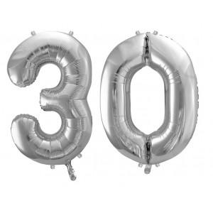 Bombola Gas  Elio Con 100 Palloncini Argento Metallizzati - Matrimonio Evento Anniversario