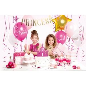 4 Coroncine 1° Compleanno Di Carta Azzurre A Pois Bianchi  Feste Party Accessori Corone Bimbo