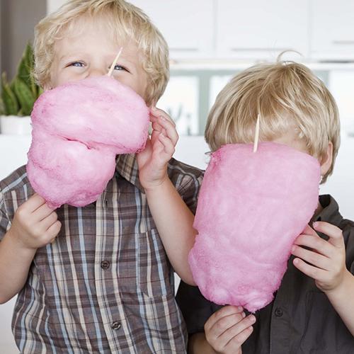 Zucchero filato per bambini